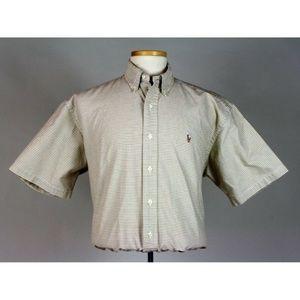 Ralph Lauren Men's BLAKE Plaid Button Down Shirt